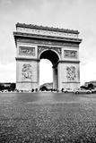 Ave Champs Elysees V Reproduction photographique par Erin Berzel