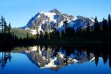Shuksan Reflections II Fotografisk tryk af Douglas Taylor