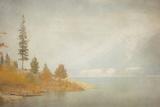 Autumn at the Lake Impressão fotográfica por Roberta Murray