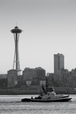 BW Space Needle IV Photographic Print by Bob Stefko