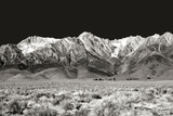Sierra Nevada Mountains I BW Fotografisk trykk av Douglas Taylor