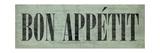 Bon Appetit III Premium gicléedruk van N. Harbick