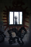 Hand and Window Photographic Print by Gary Waters