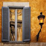 Window Reflections, Rome Photographic Print by Dolores Smart