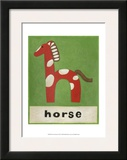 H is for Horse Arte por Chariklia Zarris