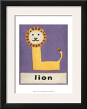 L is for Lion Posters por Chariklia Zarris