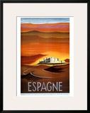 Espagne Prints by  Delpy
