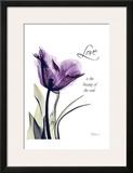 Purple Tulip, Love Posters por Albert Koetsier