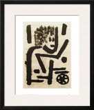 Under Cover Framed Giclee Print by Paul Klee