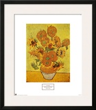 Vaso com Doze Girassóis, c.1889 Pôsters por Vincent van Gogh