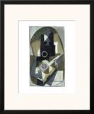L'Homme a la Guitare, 1918 Art by Pablo Picasso