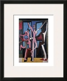 The Three Dancers, 1925 Print by Pablo Picasso