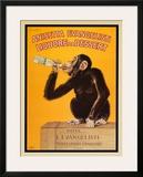 Anisetta Evangelisti Posters por Carlo Biscaretti