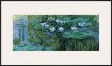 Waterlilies Pôsters por Claude Monet