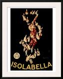 Isolabella Framed Giclee Print by Leonetto Cappiello
