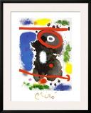 Head Poster by Joan Miró