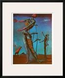 The Burning Giraffe, c. 1937 Pôsters por Salvador Dalí
