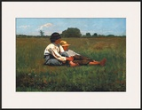 Boys in a Pasture, 1874 Poster por Winslow Homer