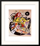 White Dot Posters by Wassily Kandinsky