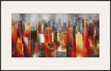 Metropolis Vista I Art by Georges Generali