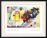Jaune, Rouge, Bleu, 1925 Pôsters por Wassily Kandinsky