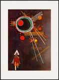 Strahlenlinien Posters by Wassily Kandinsky