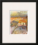 Cusco, Peru c.1950's Posters by F.C. Hannon