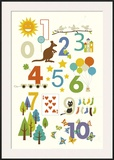 123 Poster por Yuko Lau