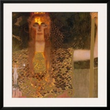 Pallas Athene, c.1898 Pôsters por Gustav Klimt
