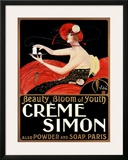 Creme Simon Posters by Emilio Vila