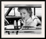Marilyn Monroe at the Drive-In, 1952 Prints by Philippe Halsman