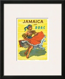 British Overseas Airways Corporation: Jamaica - Jet BOAC, c.1950s Pôsters