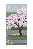 Cherry Tree, Spring, 2013 Giclée-tryk af Megan Moore