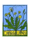 Dandelions, 2008 Impressão giclée por Megan Moore