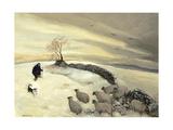 Bleak Winter Day Giclée-vedos tekijänä Margaret Loxton