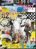 Parkverbot Bedruckte aufgespannte Leinwand von Vincent Gachaga