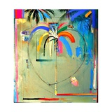 The Serendipity Peek-A-Boo Palm (Hello Freedom) Giclee Print by Andrew Hewkin
