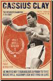 The Champion Stretched Canvas Print by  The Vintage Collection
