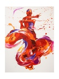 Jazz Giclee Print by Penny Warden