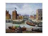 Entrance to Regent's Canal Dock Giclée-vedos tekijänä Margaret Loxton