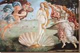 The Birth of Venus, c. 1485 Stretched Canvas Print by Sandro Botticelli