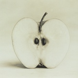 Halved Apple Photographic Print by Graeme Harris