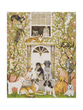 Country House Party Giclee Print by Pat Scott