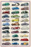 American Autos 1930-1939 Plakater
