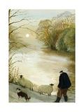 The Stray Sheep Giclée-vedos tekijänä Margaret Loxton