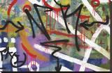 Streetlife II Trykk på strukket lerret av Tony Koukos