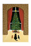 The Christmas Tree Giclée-vedos tekijänä Margaret Loxton