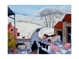 No Room at the Inn Giclée-tryk af Margaret Loxton