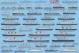 Oceaanlijnboten Affiches