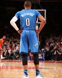 Dec 25, 2013, Oklahoma City Thunder vs New York Knicks - Russell Westbrook Foto af Nathaniel S. Butler